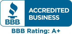 A+ Rating with BBB (with no complaints) since 2001.