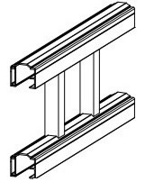 "Aluminum Railing - 1-3/8"" Elite Top"