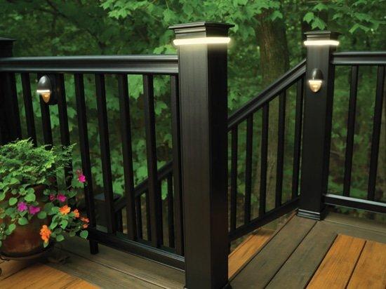 St louis timbertechazek deck lighting accent lighting timbertechazek deck rail lighting accent light aloadofball Image collections