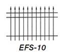 Aluminum Fence EFS 10