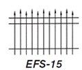 Aluminum Fence EFS 15