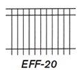 Aluminum Fence EFS 20
