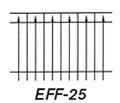Aluminum Fence EFS 25