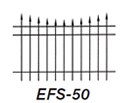 Aluminum Fence EFS 50