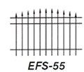 Aluminum Fence EFS 55