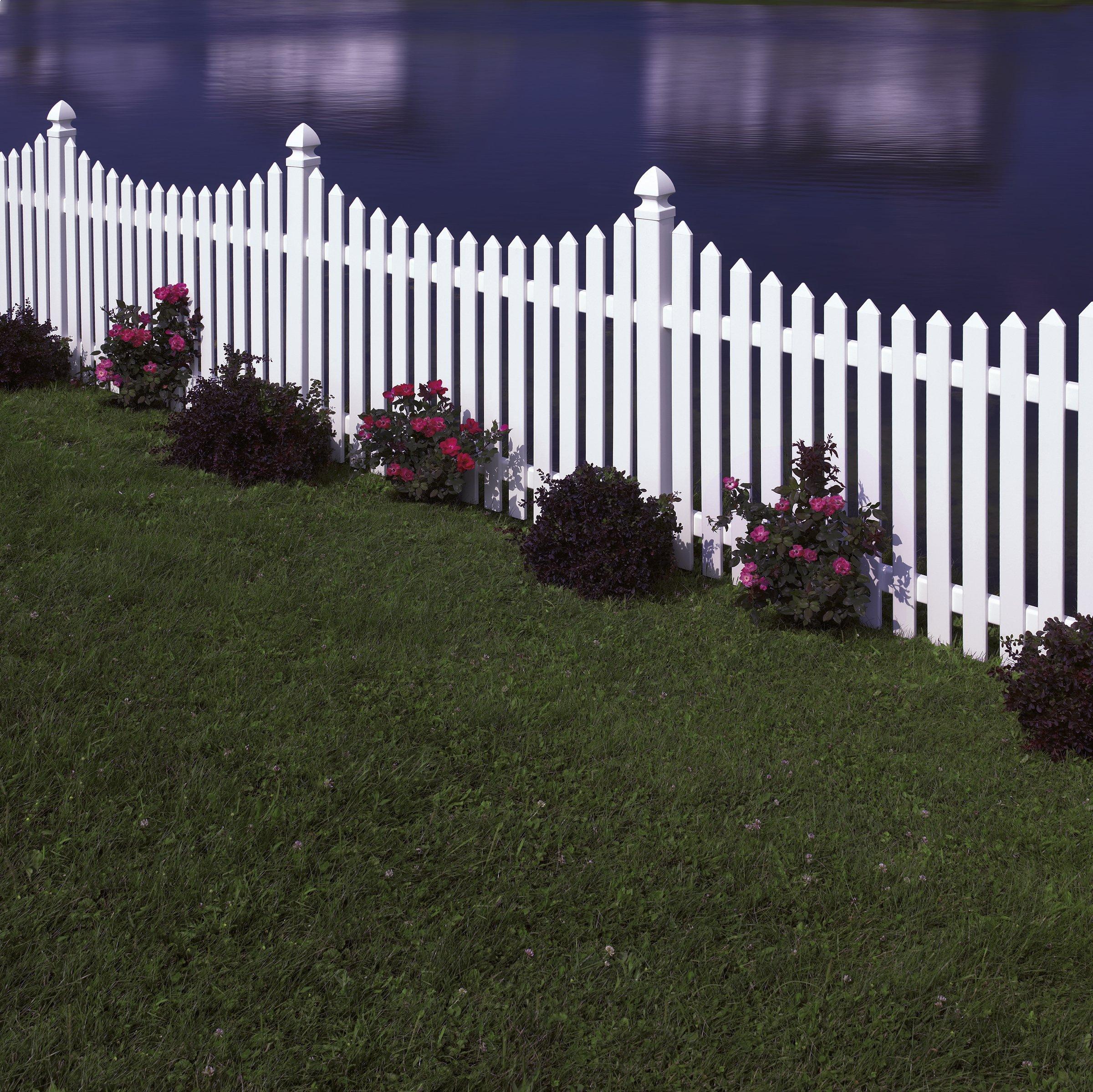 Cape Cod Vinyl Fence Maintenance Free