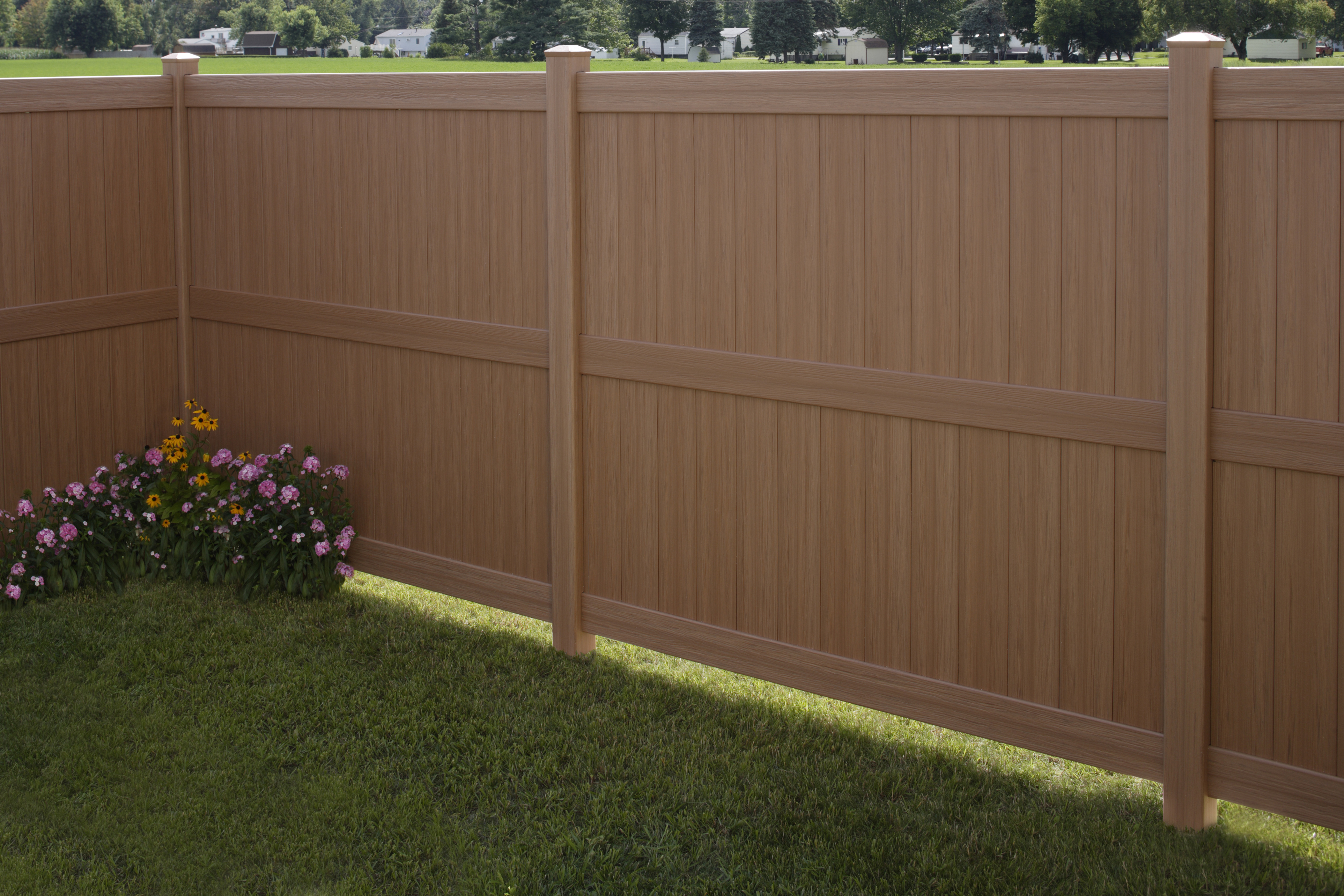 Galveston CertaGrain Vinyl Fencing | Maintenance-Free
