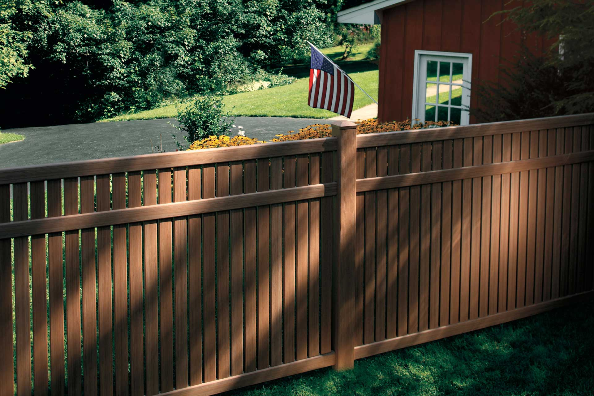 How Matte Fencing Compares to Wood Fencing