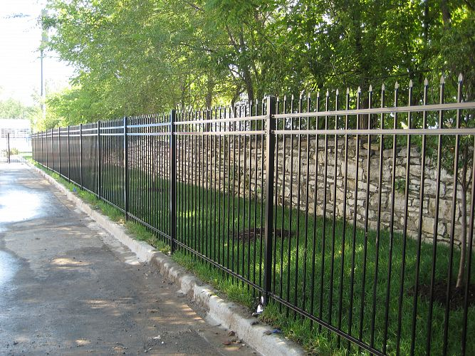 Decorative Steel Fencing montage® ornamental steel fencing | maintenance-free