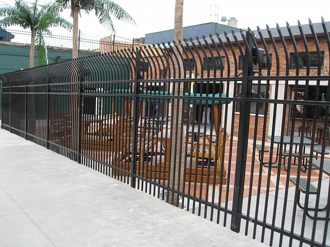 Montage ii ornamental steel fencing maintenance free