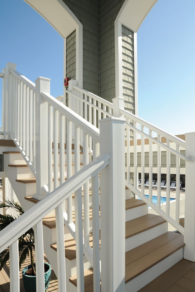 Azek Premier Capped Composite Railing Maintenance Free