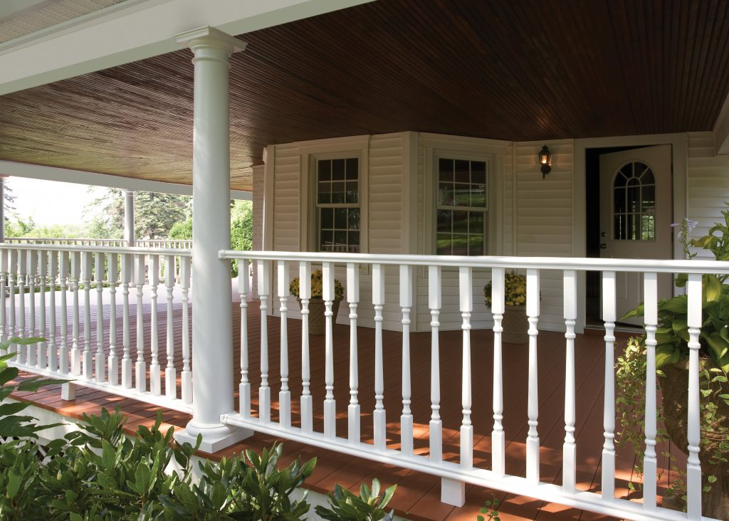 Vinyl Porch Posts Maintenance Free