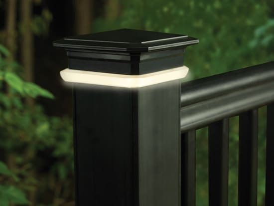 Timbertech Azek Deck Lighting Post Cap Light Module