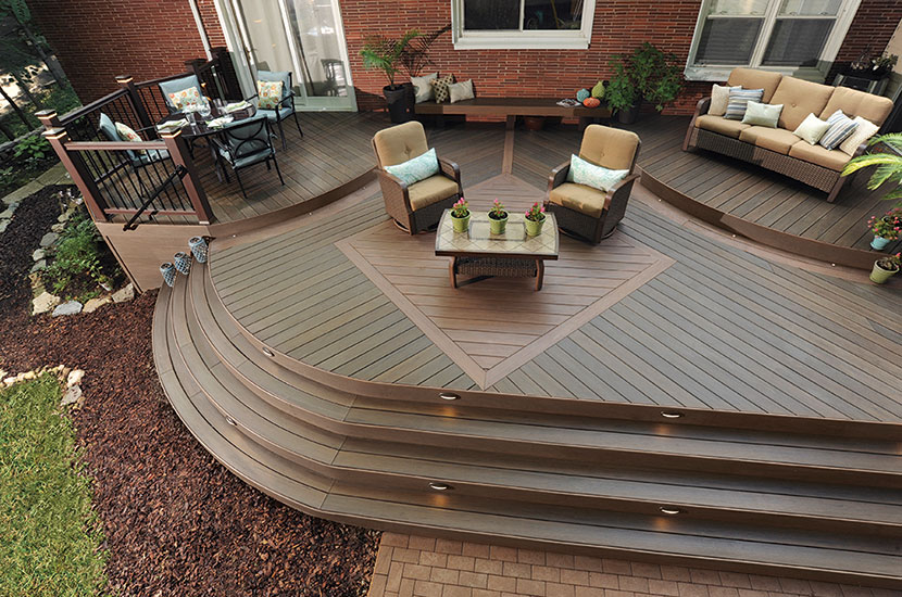 Earthwood Evolutions 174 Legacy Capped Composite Decking