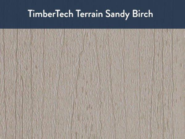 TimberTech Terrain Sandy Birch