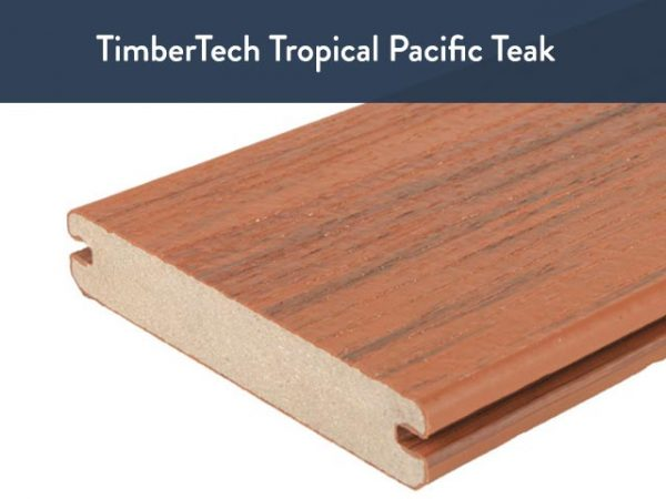 TimberTech Tropical Pacific Teak