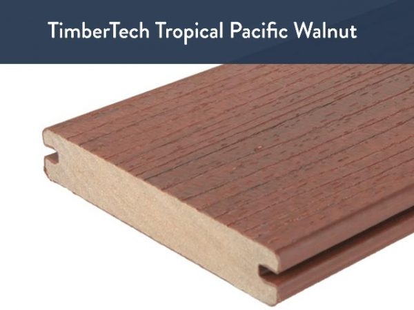 TimberTech Tropical Pacific Walnut