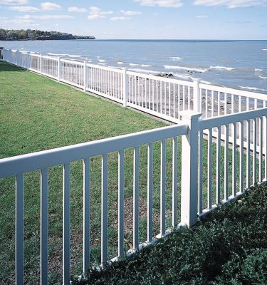 Countess Vinyl Fencing Maintenance Free