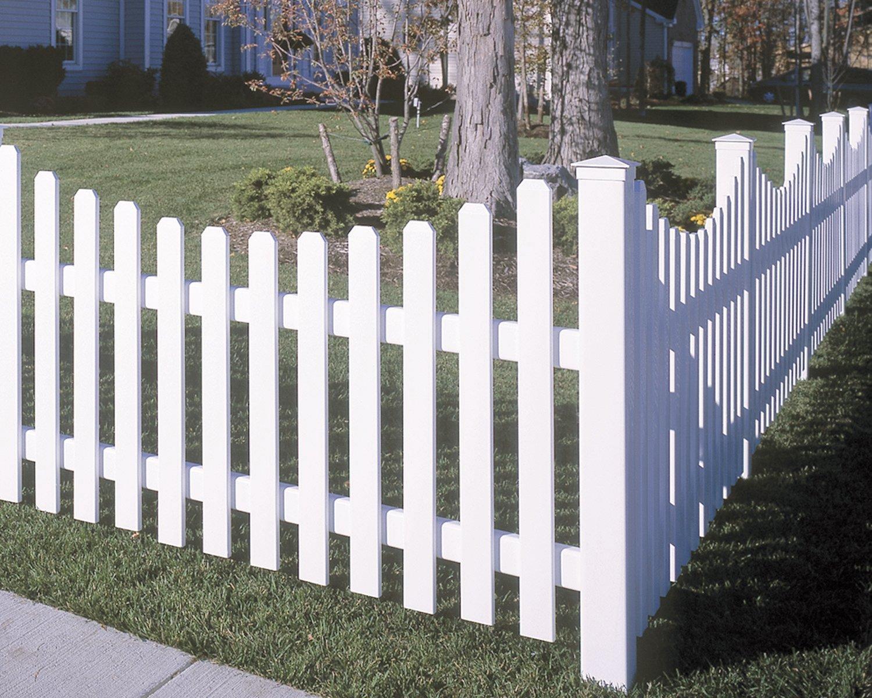 yorkshire vinyl fencing maintenance free. Black Bedroom Furniture Sets. Home Design Ideas
