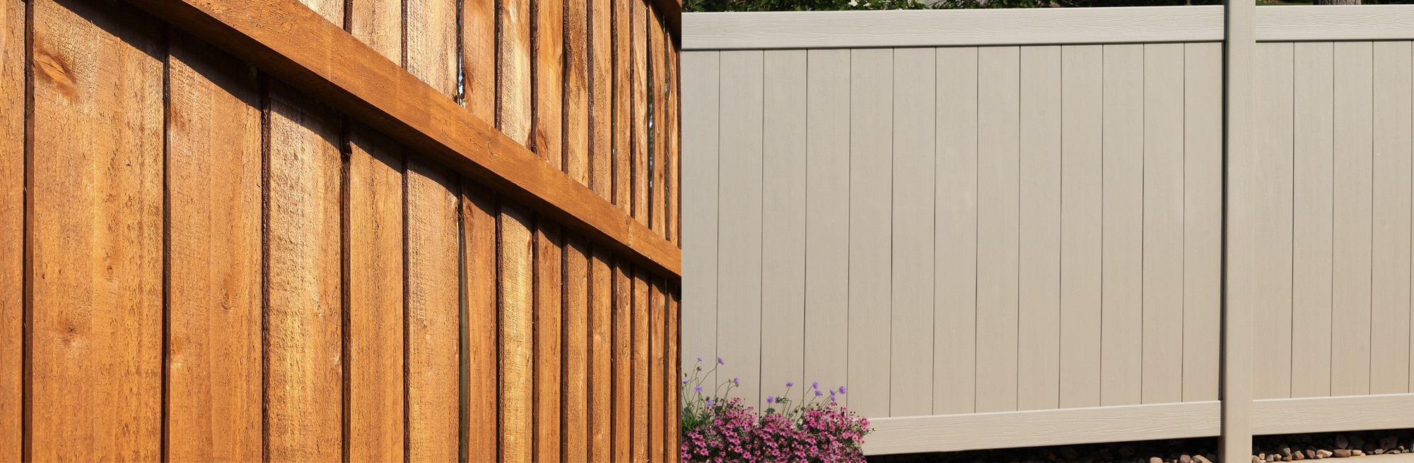 Wood Fencing vs. Vinyl Fencing