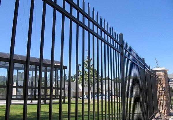 Residential Ornamental Steel Fencing