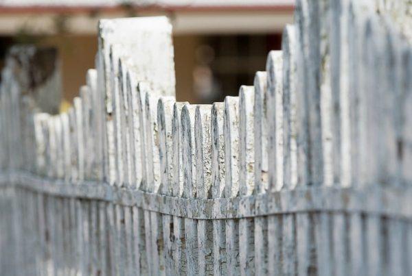 white-picket fence