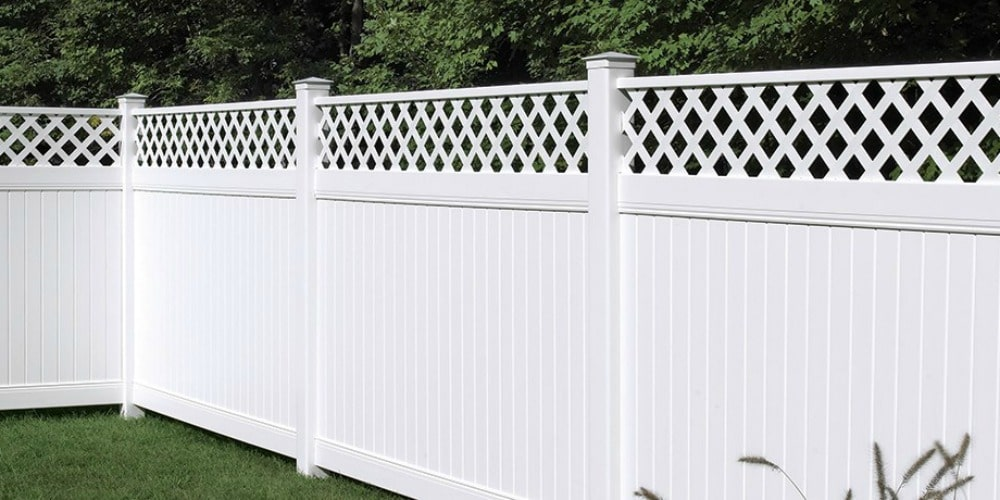Vinyl Privacy Fence