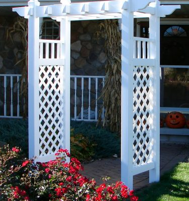 maintenance-free outdoor solutions vinyl_arbors_vineyard_pergola