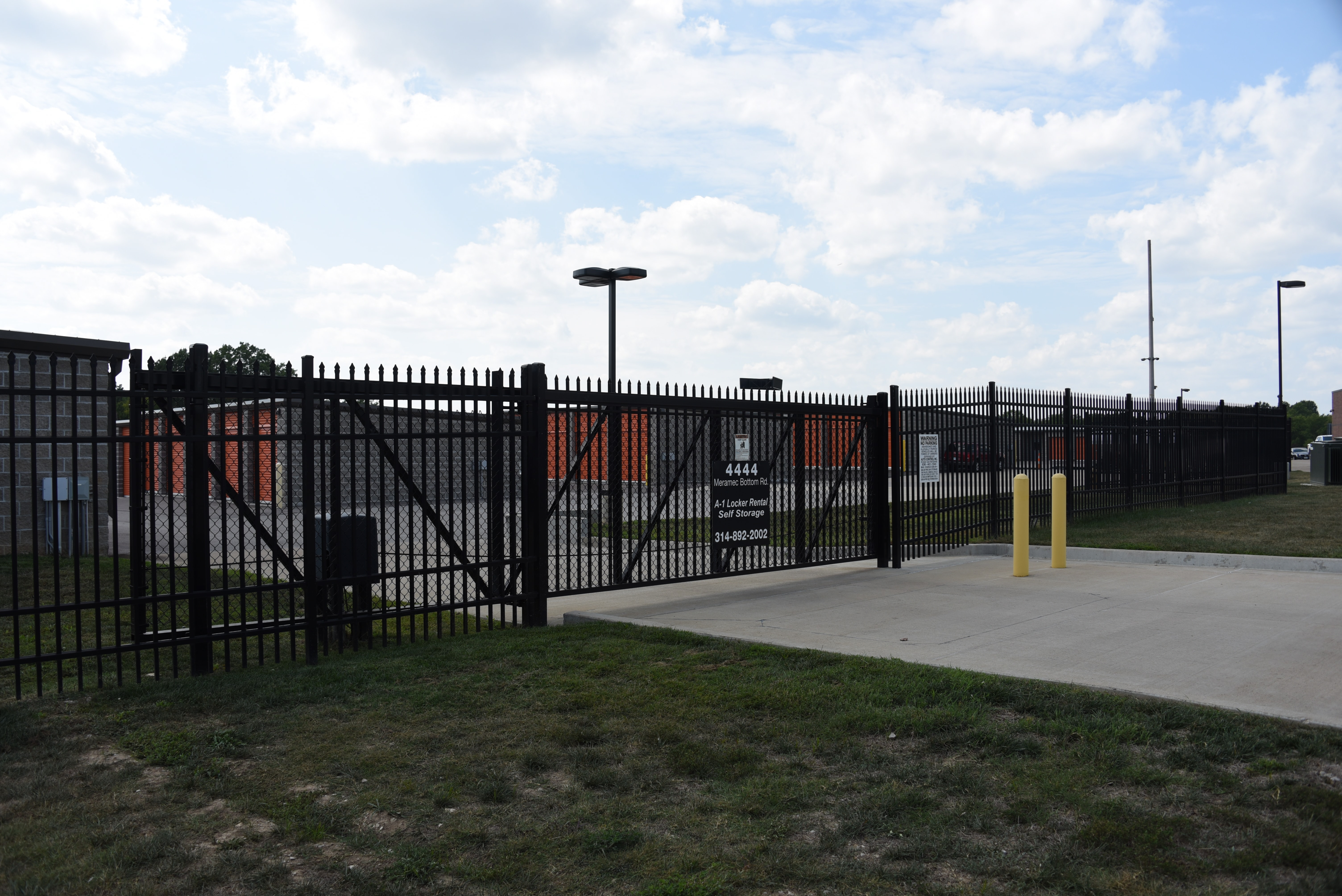 Industrial grade fencing installed by Maintenance-Free Outdoor Solutions is a great choice for securing industrial and commercial properties