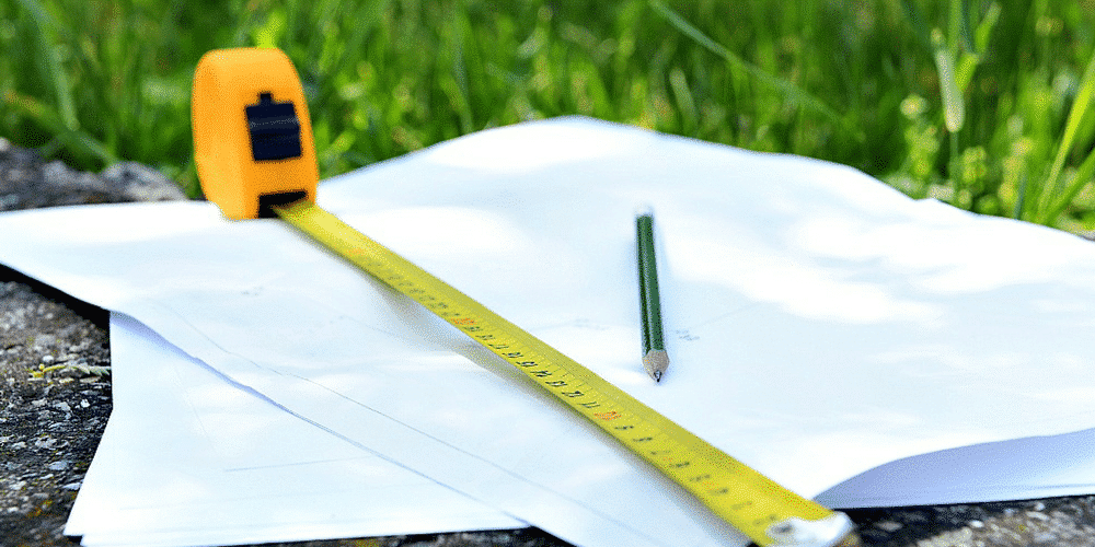 Professional measuring for a vinyl fence installation is a must.