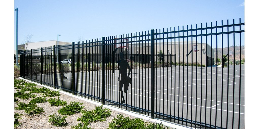 Ameristar commercial fencing and gates by Maintainfree.com of St. Louis