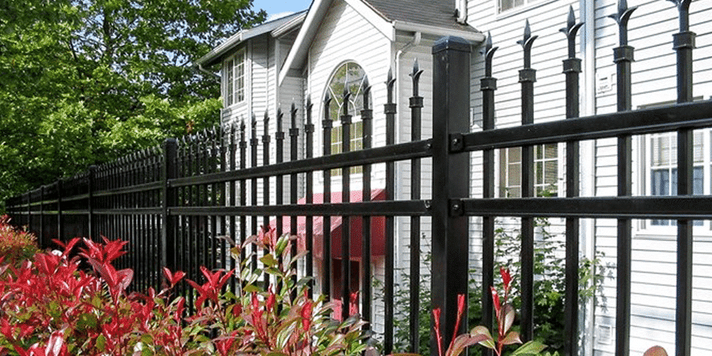 An Ameristar fence is a great non-wood alternative that offers elegance and durability