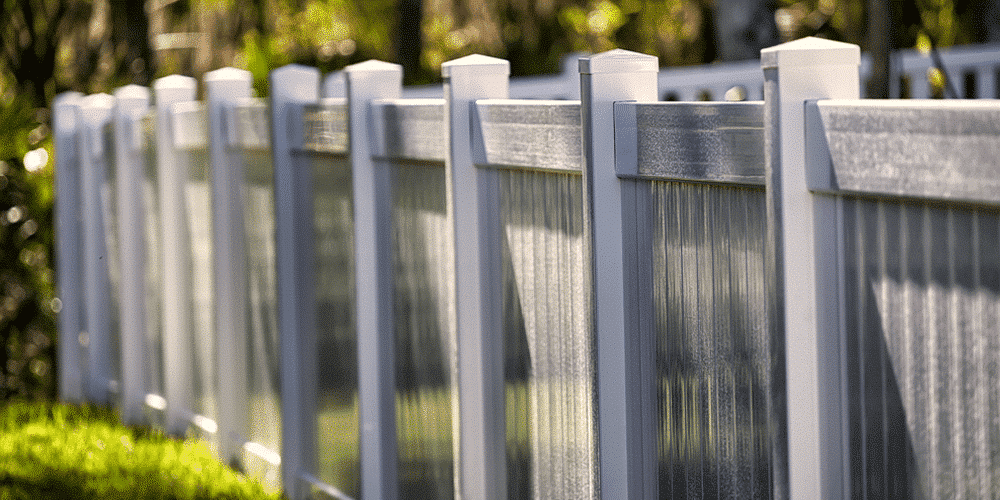 A semi-privacy vinyl bufftech fence is a great option offered by Maintain Free Outdoor Solutions