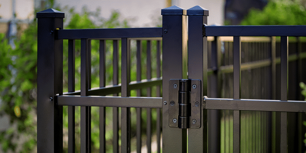 The various materials needed for an aluminum fence can change the overall cost