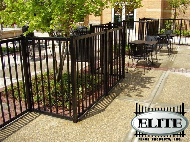 Why you should choose Elite aluminum from MFOS, your St. Louis commercial fence company