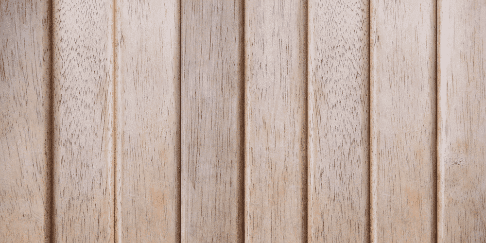 wooden-colored vinyl fence