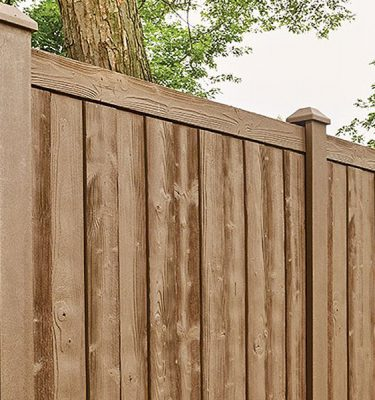Certainteed Simulated Woodgrain Fence