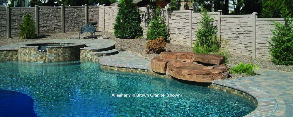 Allegheny in Brown Granite